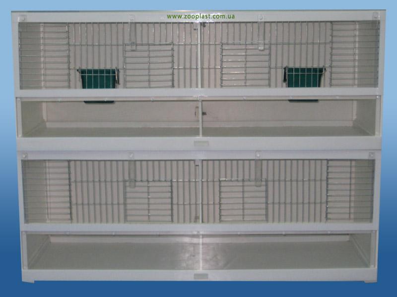 Клетки для содержания декоративных птиц (амадин, канареек) размером 80х30х30 см